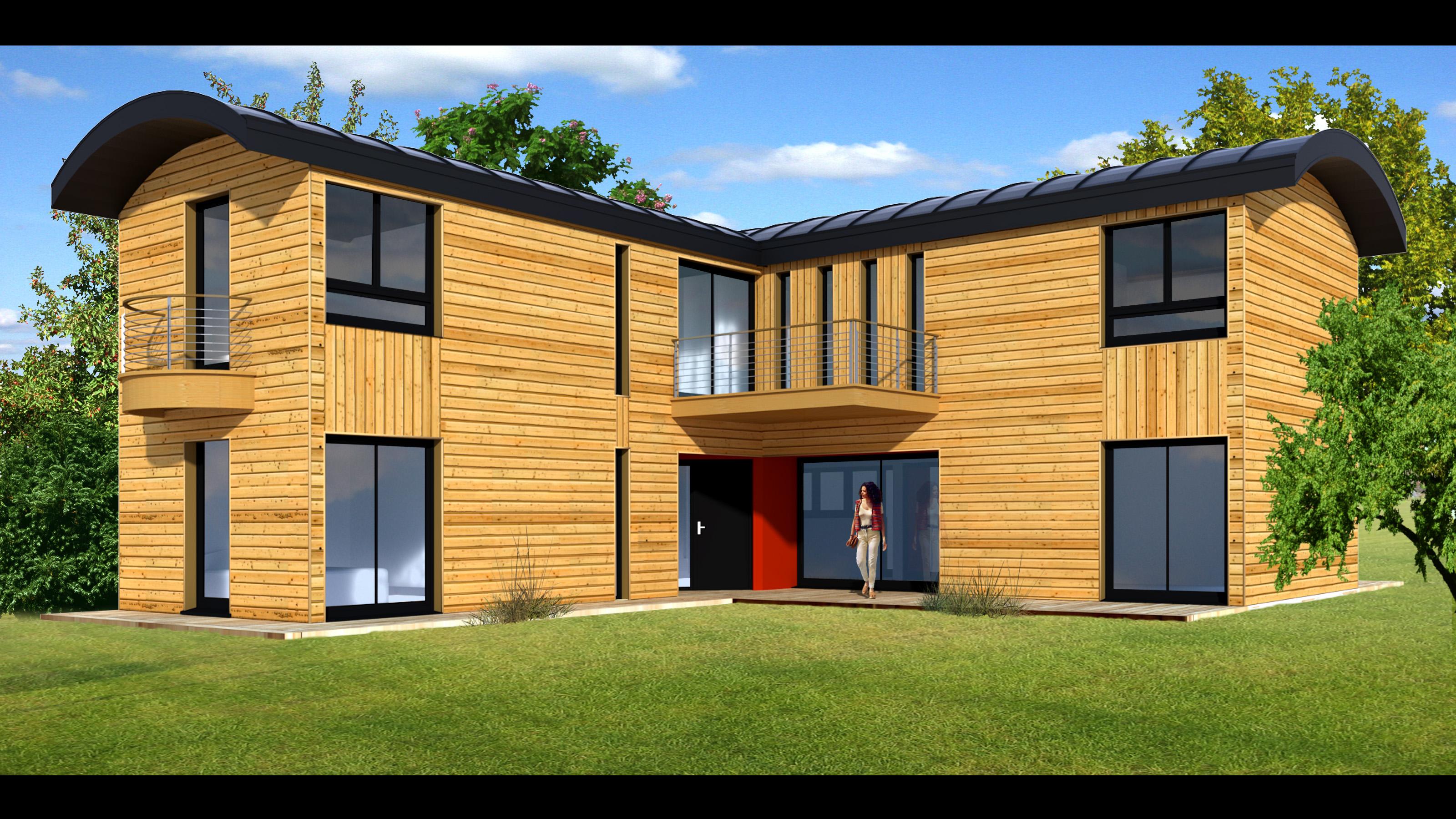 Non class constructions cologiques conomes for Maison modulaire ecologique